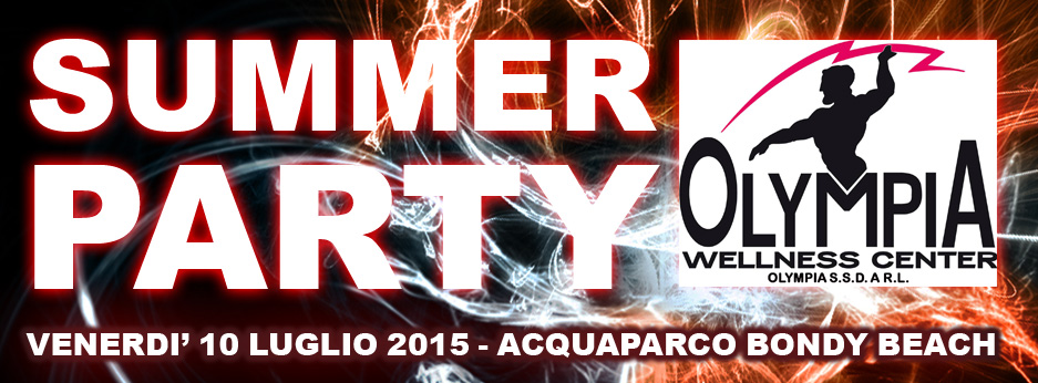 SUMMER PARTY OLYMPIA 10/07/2015